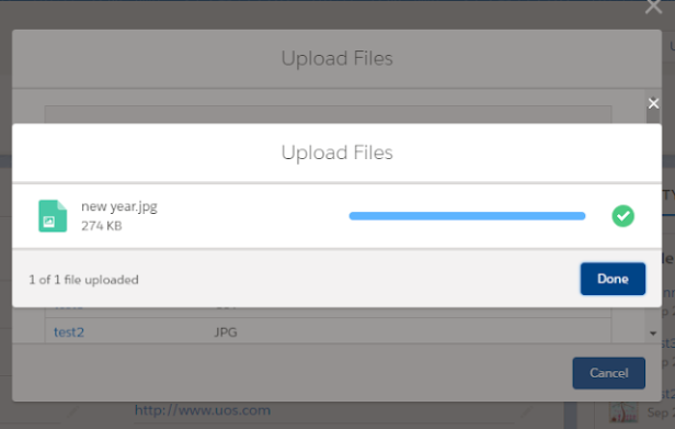 "⚡ Lightning – File upload with a title using ""lightning"