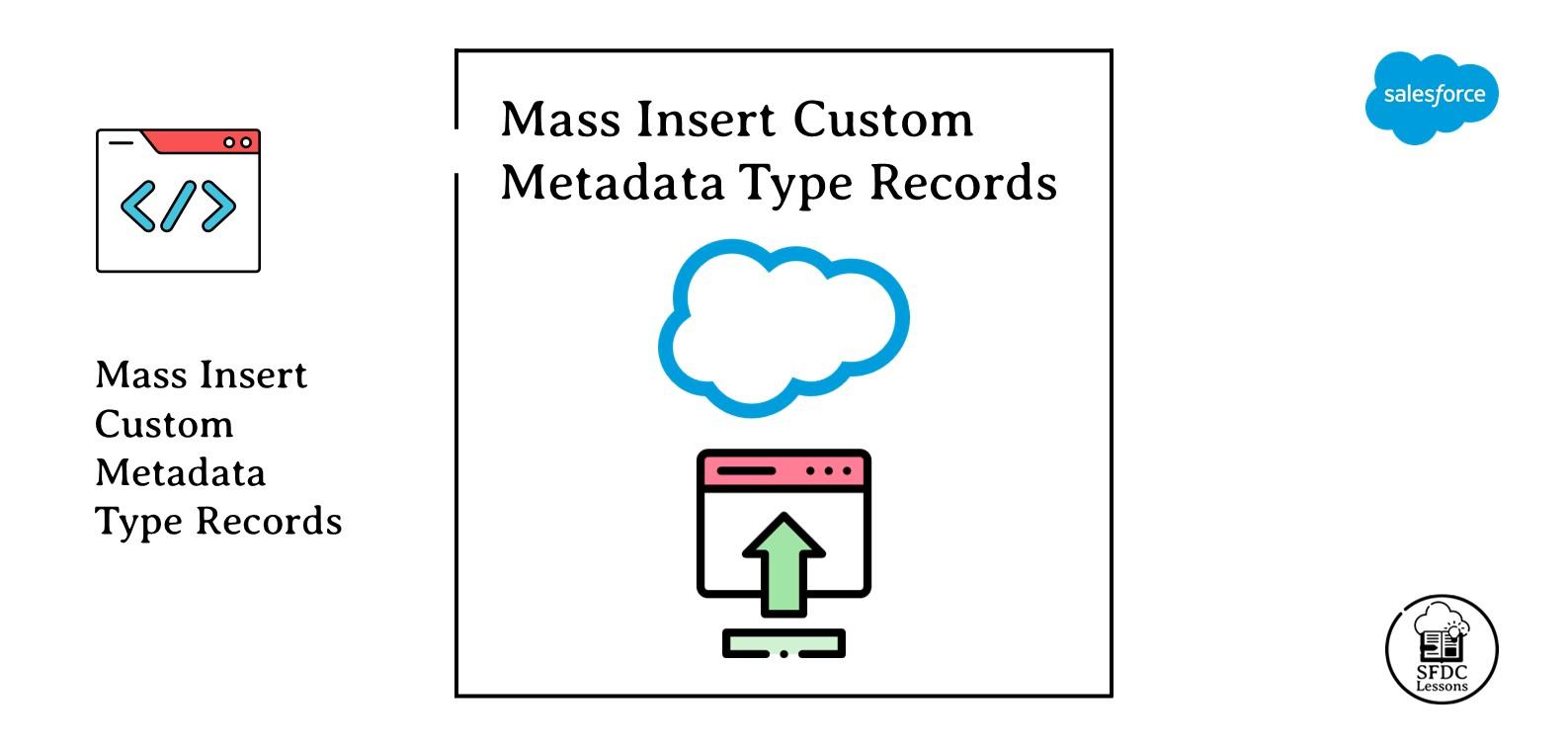 Mass Insert Custom Metadata Type Records